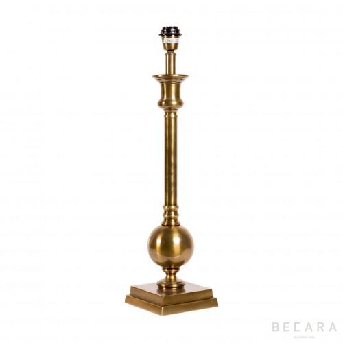 Lámpara de mesa latón dorado - BECARA