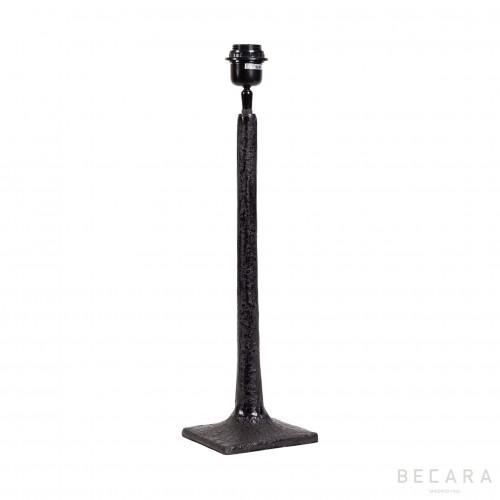 Lámpara de mesa negra mate - BECARA