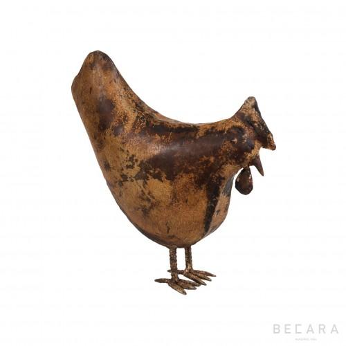 Metallic hen