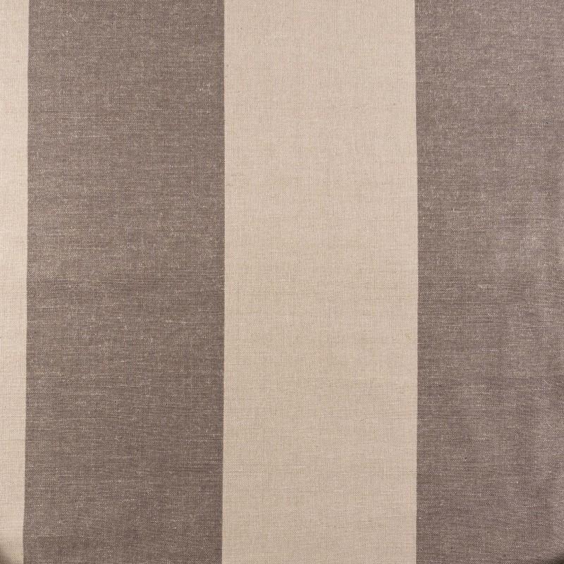 Cream-Khaki stripes fabric