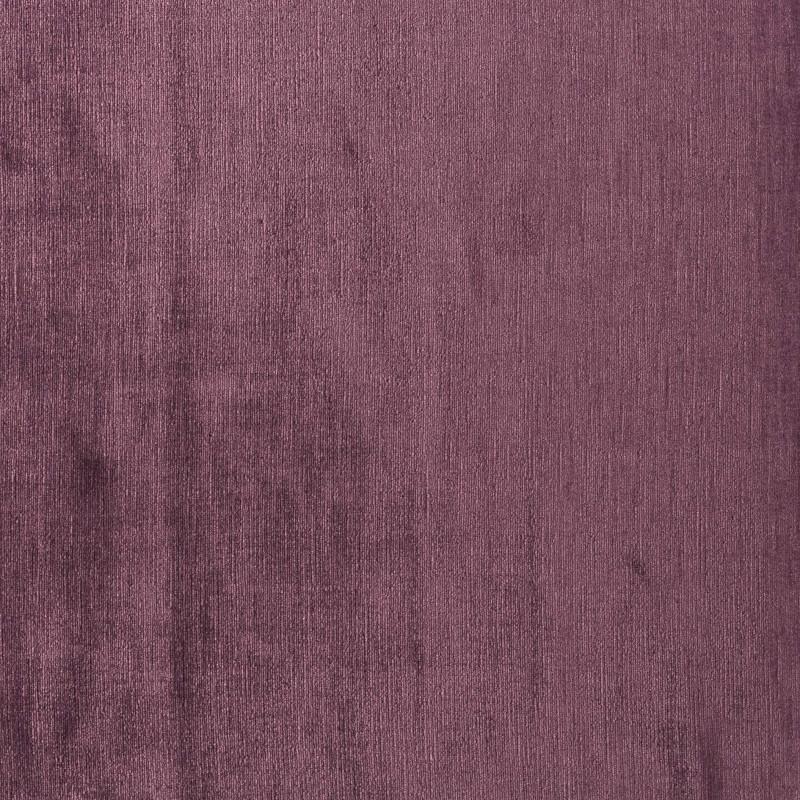 Tela de terciopelo de lino berenjena - BECARA