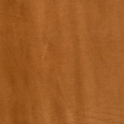 Orange brown cotton velvet...