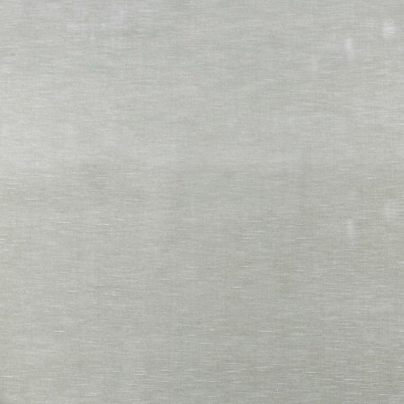 Green linen velvet fabric