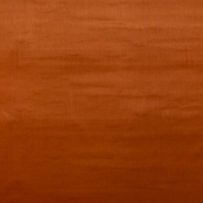 Rust color cotton velvet fabric