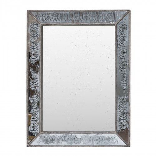 62x81cm engraved mirror