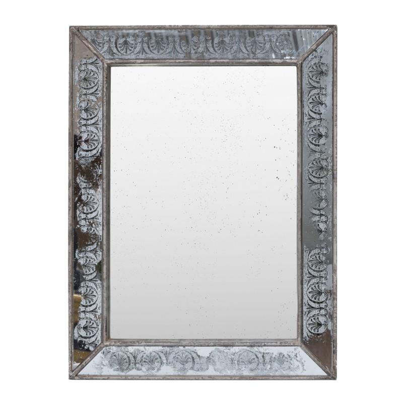 Espejo grabado 62x81cm - BECARA