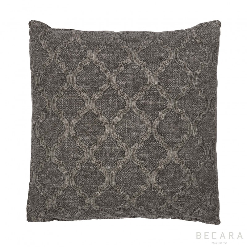Big green tile cushion