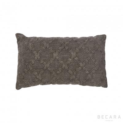 Small green tile cushion