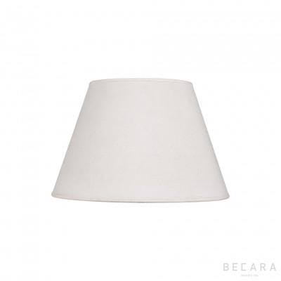 Linen conical screen 40cm