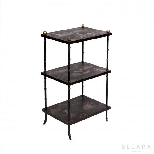 Oriental shelves