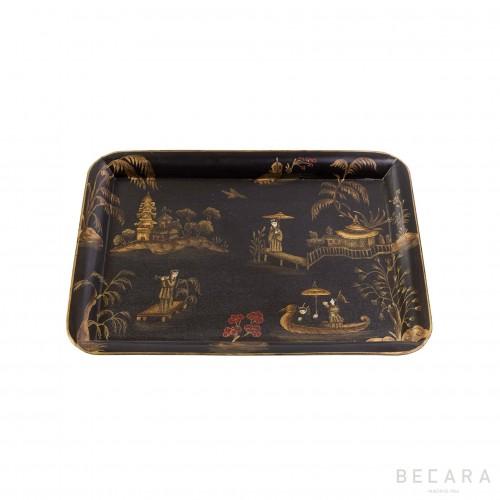Pagoda medium tray