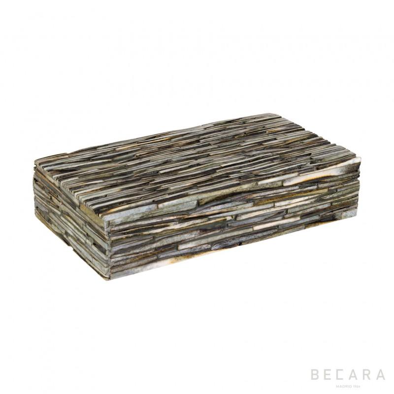 Caja de tiras gris - BECARA