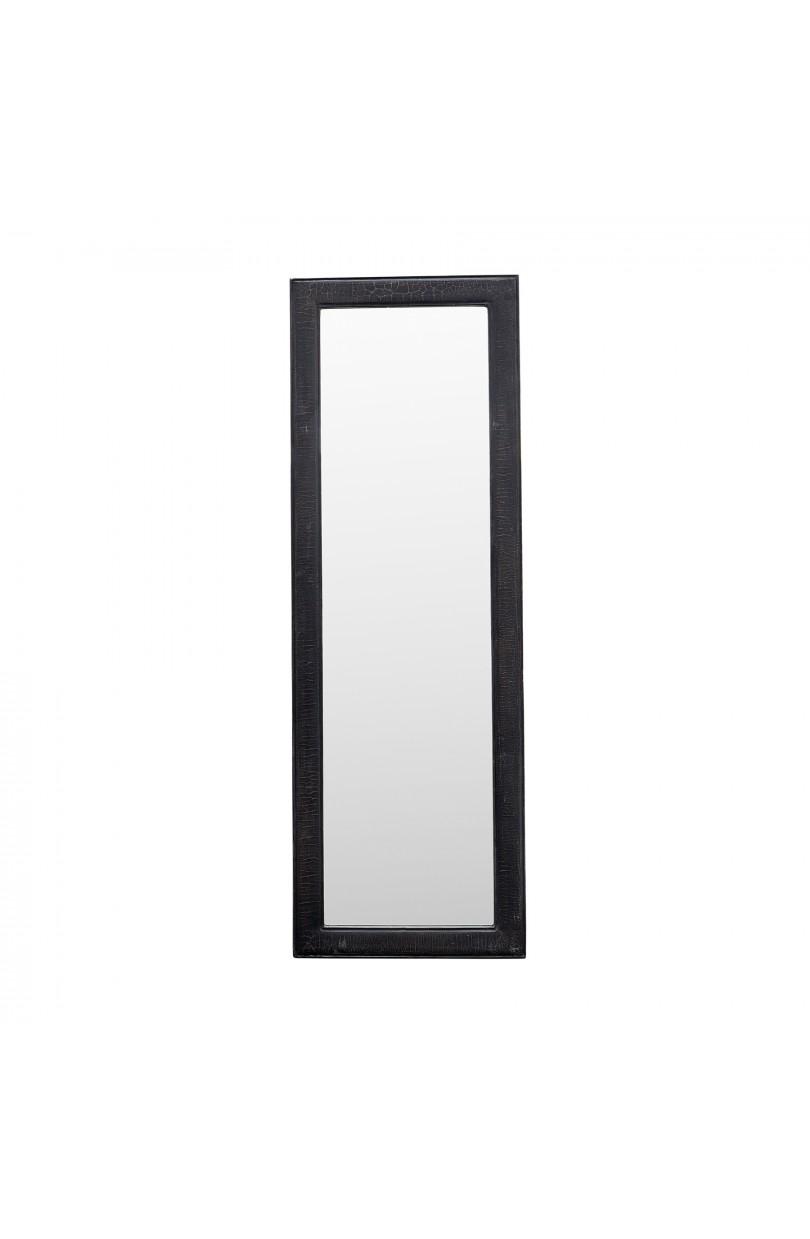 Espejo rectangular negro 173 cm espejos y cuadros en becara - Cuadros de espejo ...
