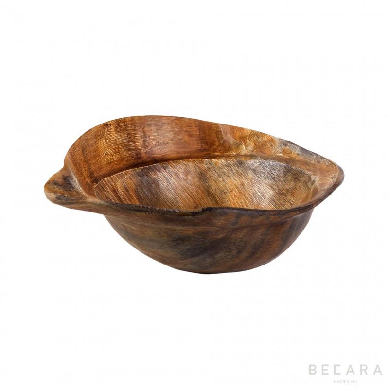 Bowl de asta de borde irregular redondo - BECARA