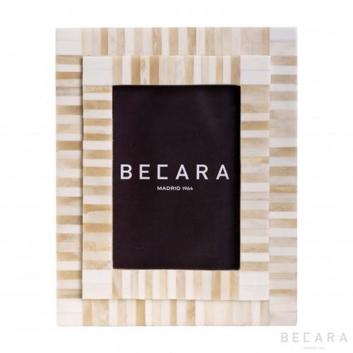 Marco de hueso - BECARA