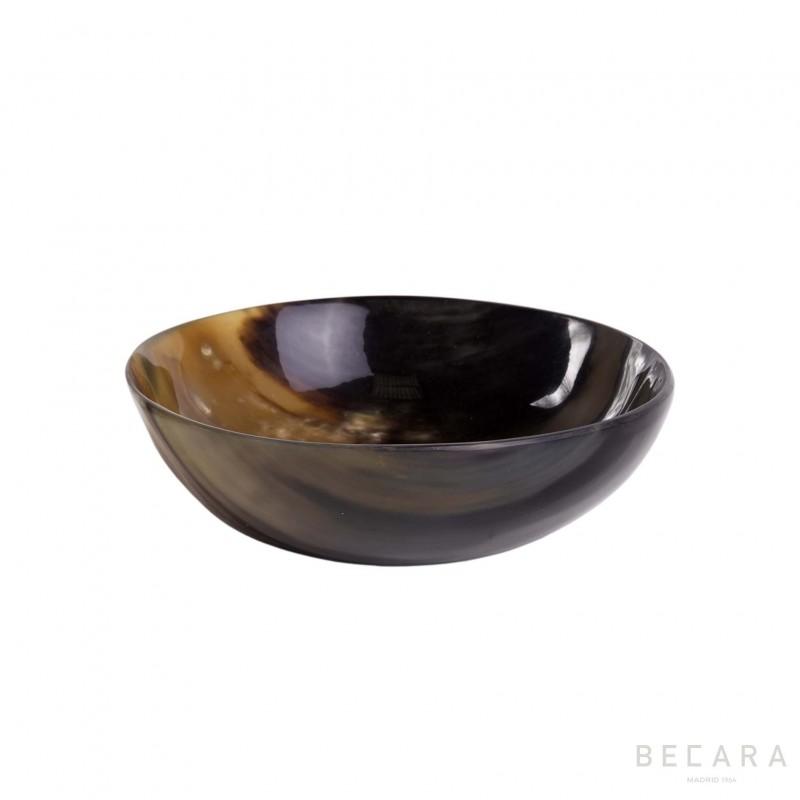 Natural horn bowl