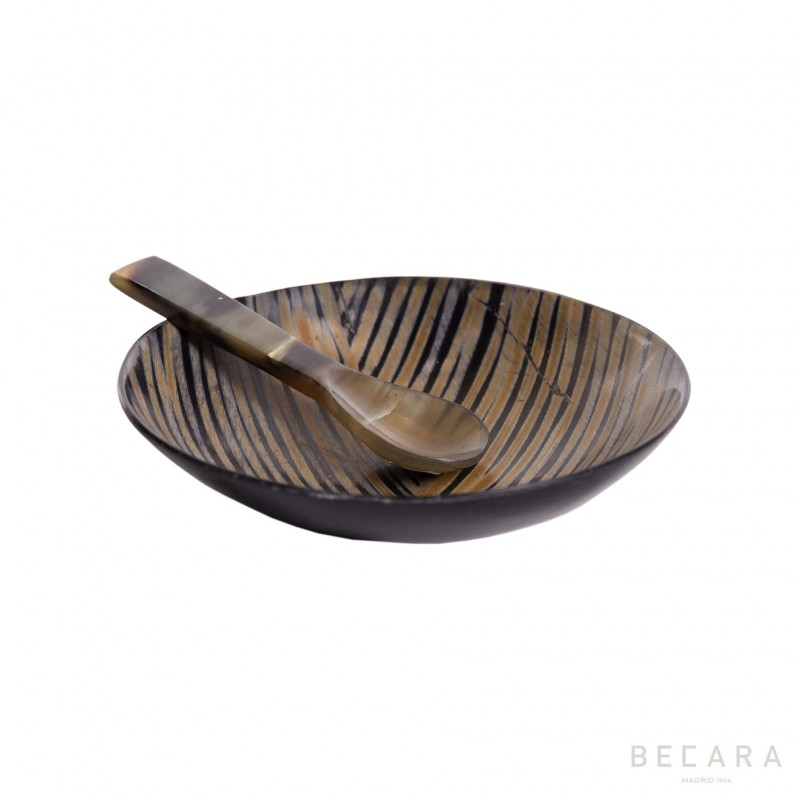 Bowl de asta con cuchara - BECARA