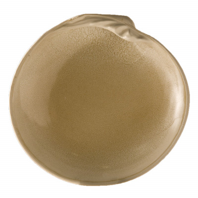Sand seashell shallow plate