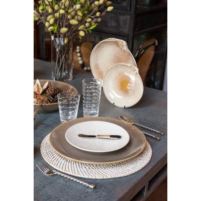 Shagreen extra-big plate