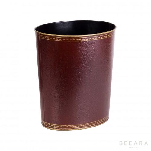 Papelera roja - BECARA