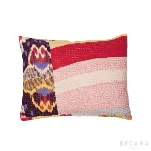 Cojín patchwork - BECARA