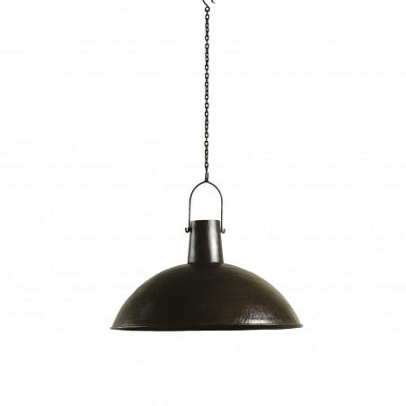 Lámpara de techo martelé bronce