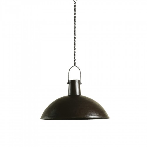 Dark bronze ceiling lamp