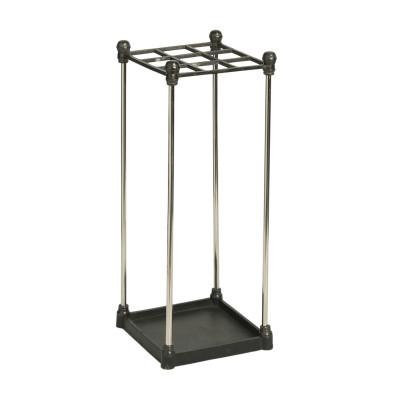Metallic umbrella-stand