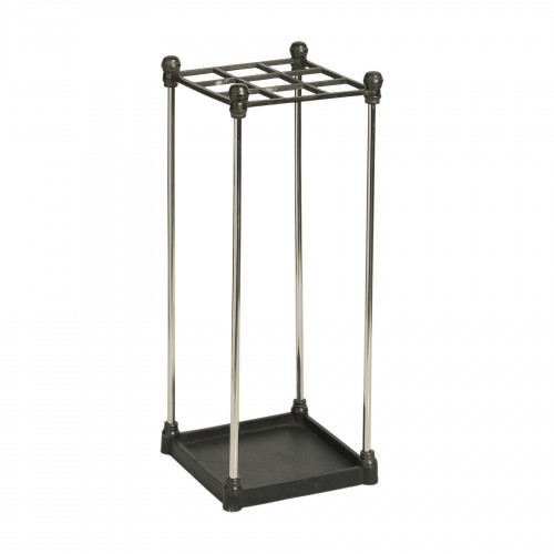 Metallic umbrella-stand