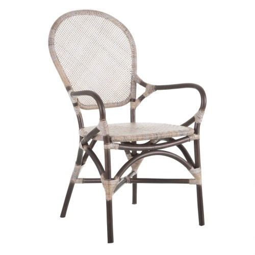 Beige/Brown Pasadena armchair