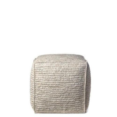 Natural Cantone pouf
