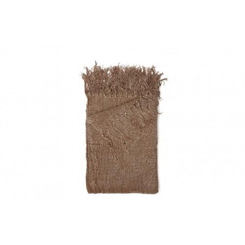 Plaid Narvik marrón - BECARA