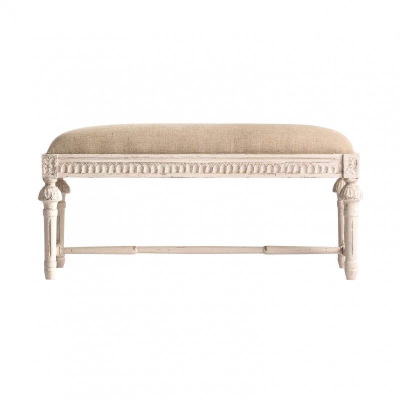 White Aviñon bench