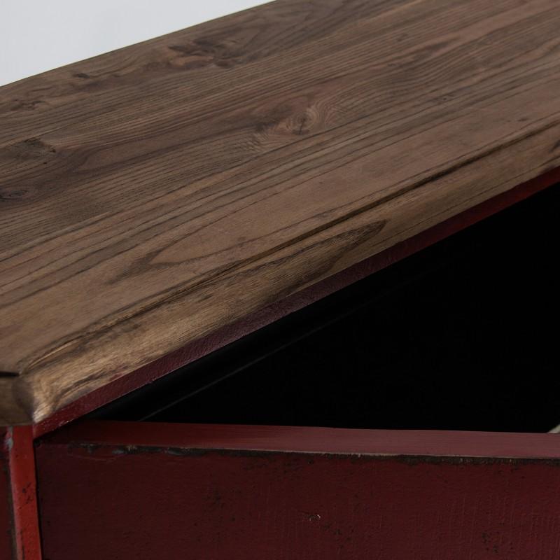Red Asis sideboard