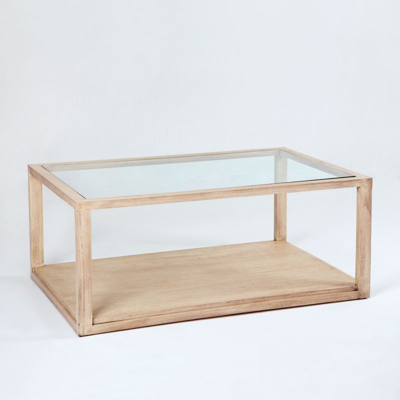 White Norman coffee table