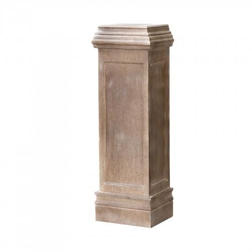 Columna pedestal de madera