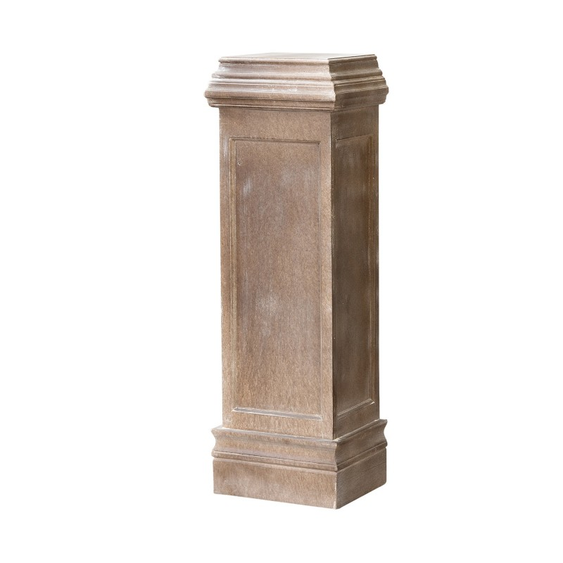 wooden pedestal column