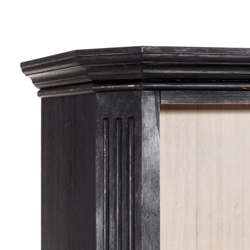 Treveris black bookshelve