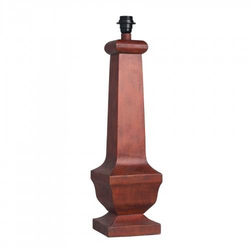 Lámpara de mesa Nicolette roja