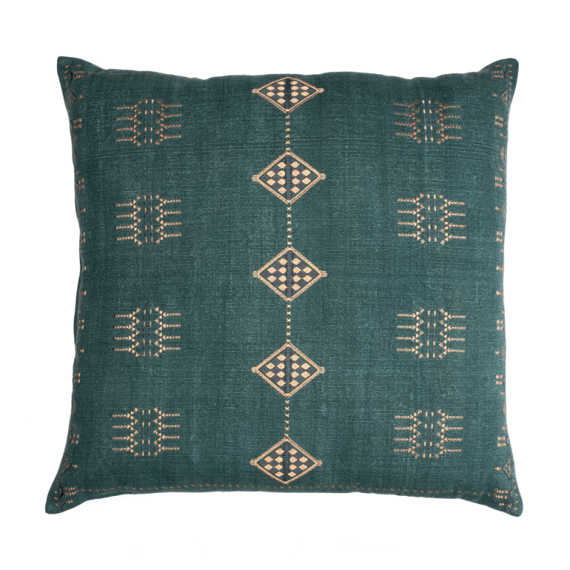 Blue Bali floor cushion