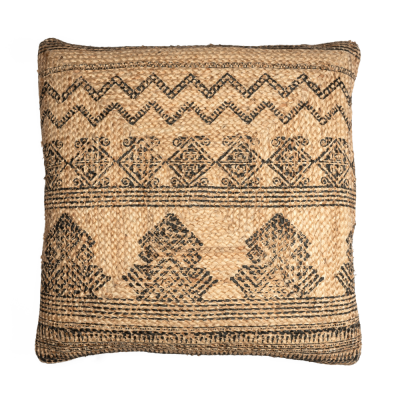Floor jute cushion