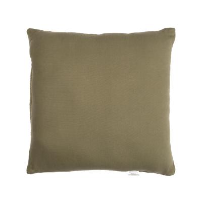 Green square Bali cushion
