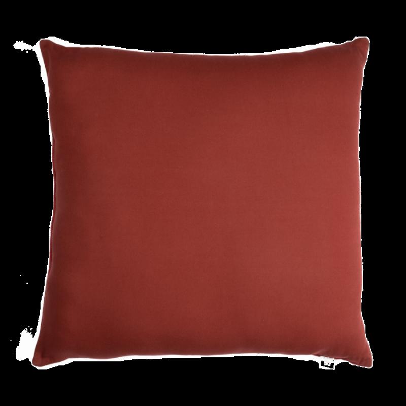 Red Bali floor cushion