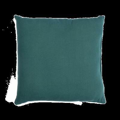 Blue square Bali cushion
