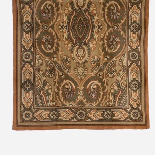 Crewel brown carpet