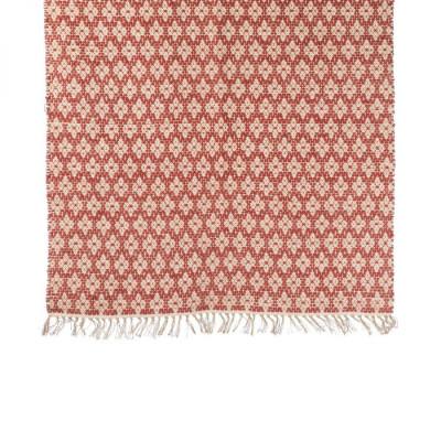 Geometric big red carpet
