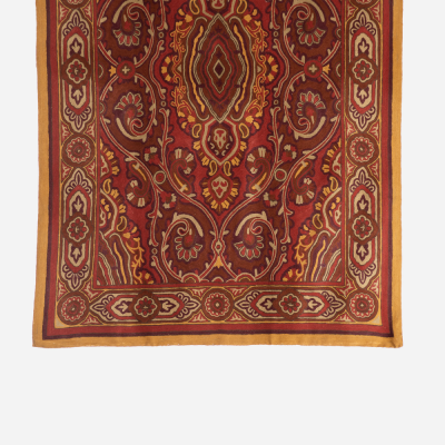 Crewel red carpet