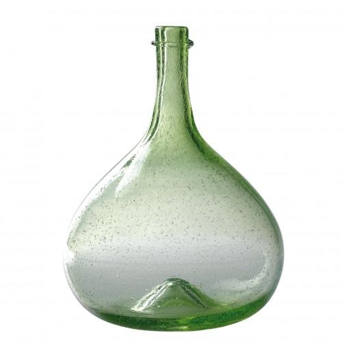 Botella de burbujas verde