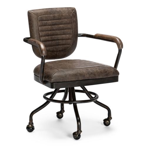 Octavio brown chair