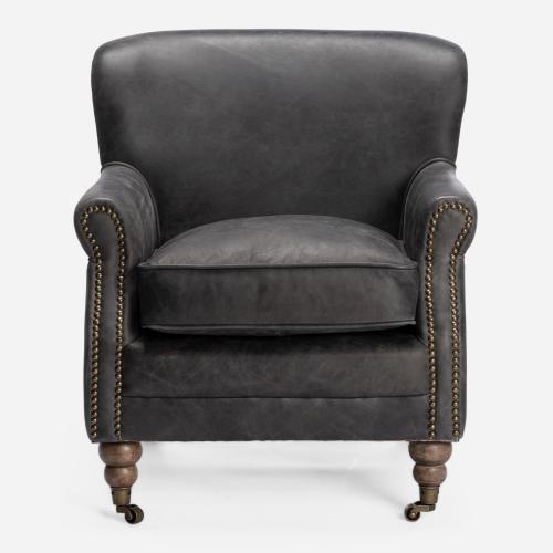 Adams ebony armchair
